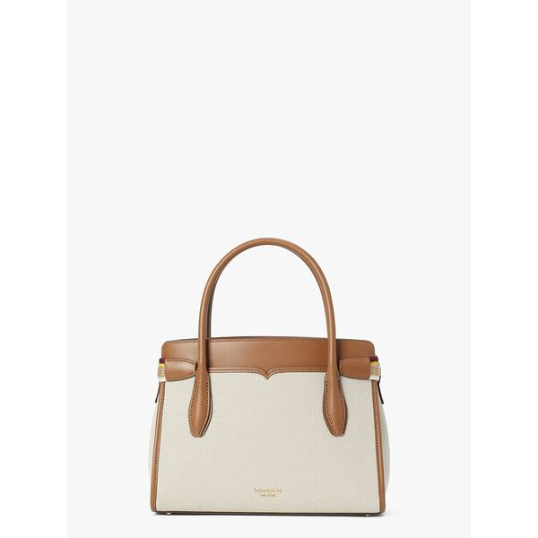 toujours canvas medium satchel, NATURAL, hi-res