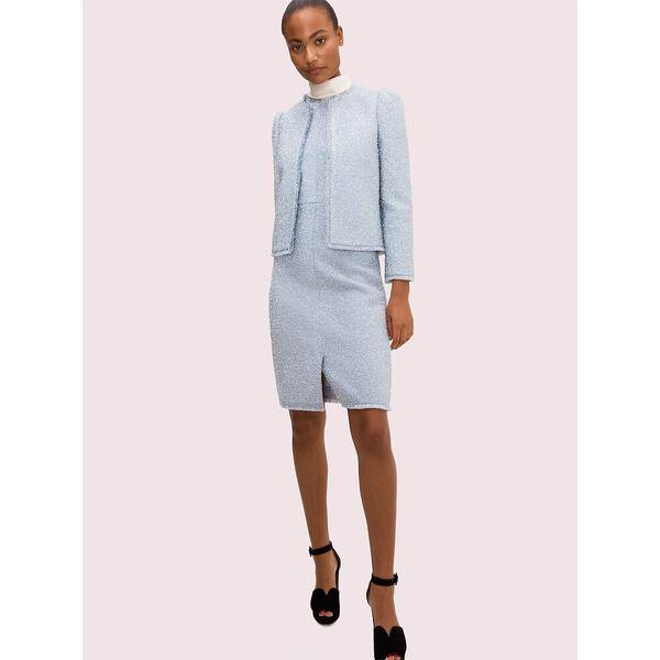 tinsel tweed dress, moonglow, hi-res