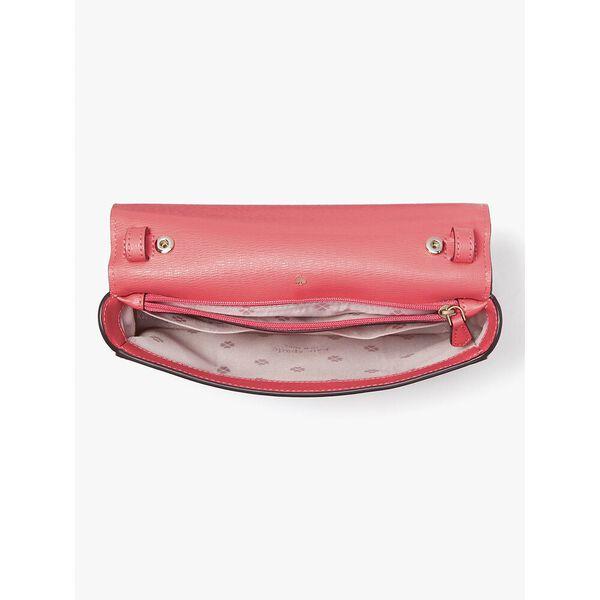 spencer dots chain wallet, peach melba multi, hi-res