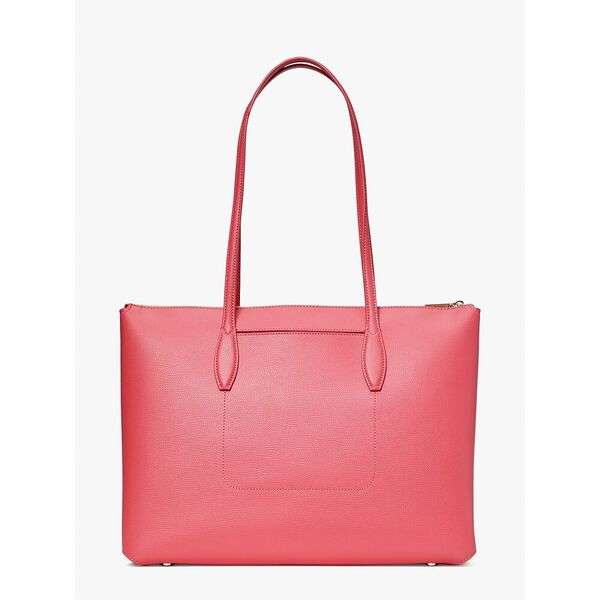 all day large zip-top tote, orchid, hi-res