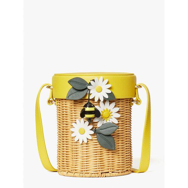 buzz wicker honey pot crossbody