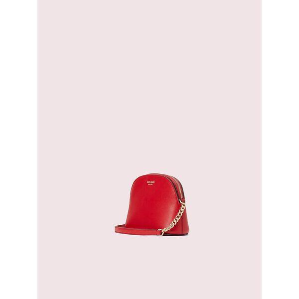 spencer small dome crossbody, hot chili, hi-res