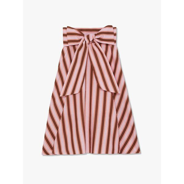 calais stripe skirt