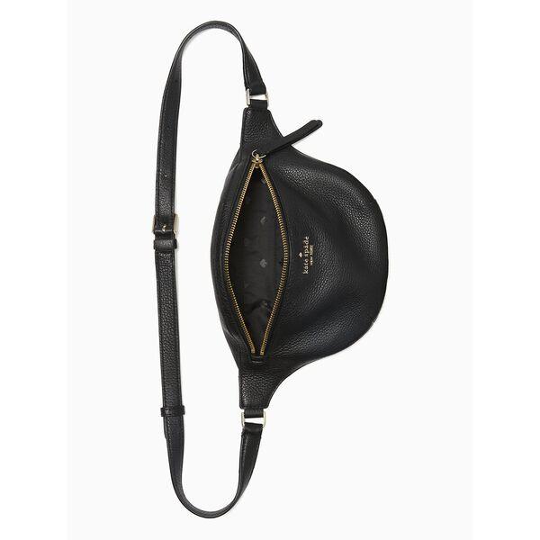 jackson belt bag, black, hi-res
