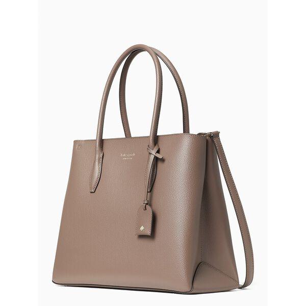 eva medium top zip satchel, dusk cityscape, hi-res