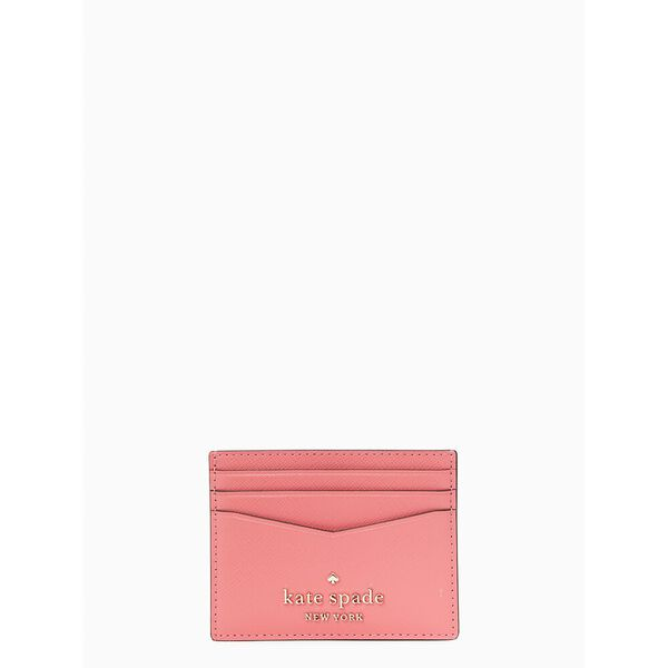 staci small slim card holder, garden pink, hi-res