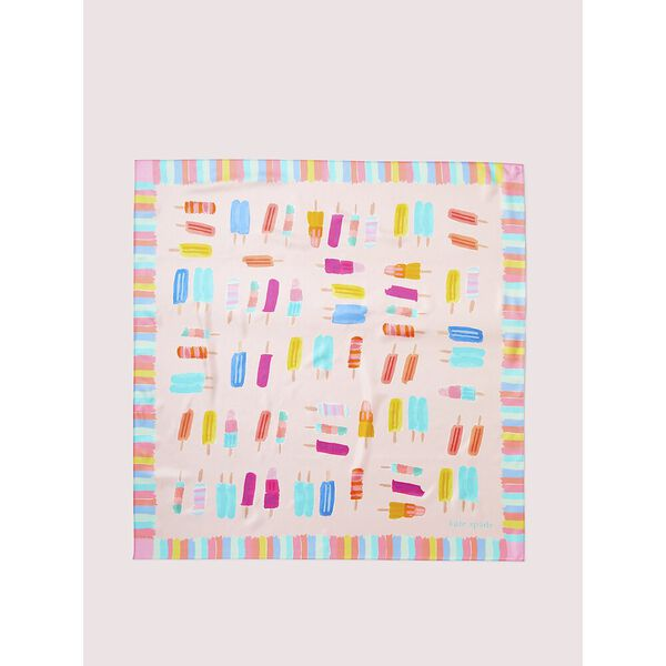 ice pop square scarf, CHALK PINK, hi-res