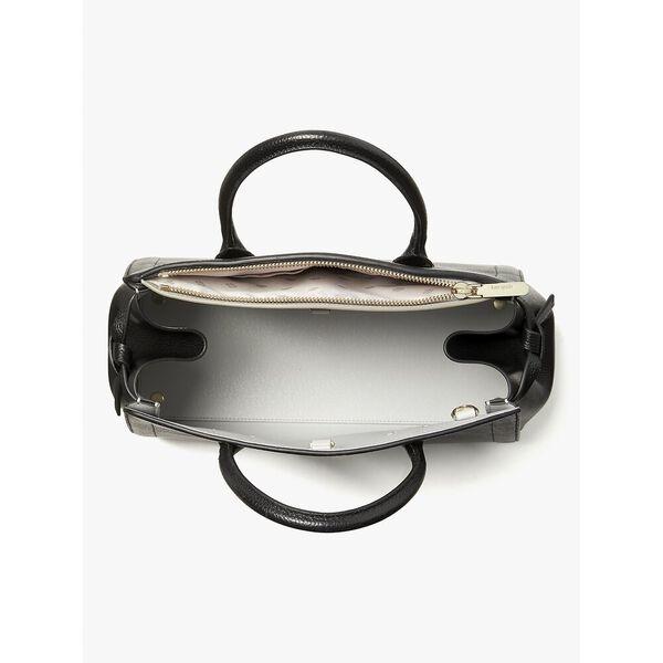 knott large satchel, black, hi-res