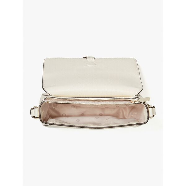 knott medium saddle bag, parchment, hi-res
