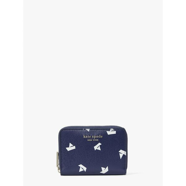 spencer paper boats zip card case