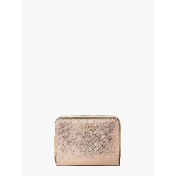 spencer metallic small compact wallet