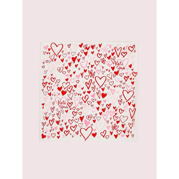 heart scribbles bandana