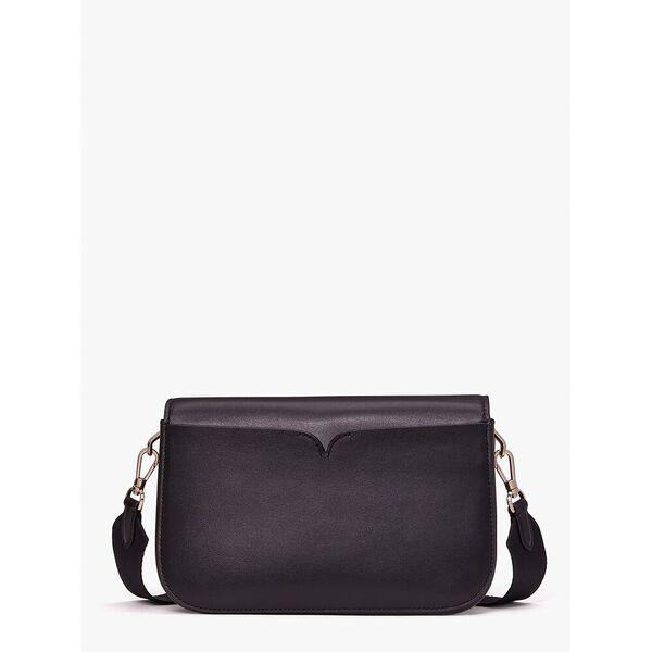 i heart ny x kate spade new york buddie medium shoulder bag, black multi, hi-res