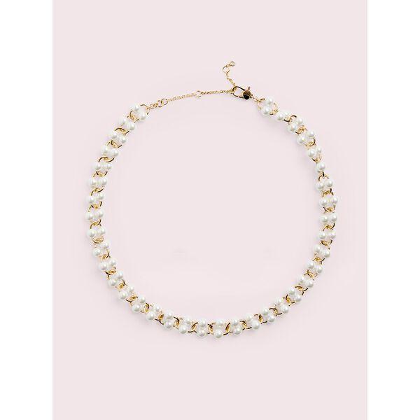 nouveau pearls necklace