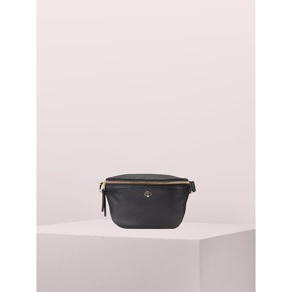 polly medium belt bag, black, hi-res