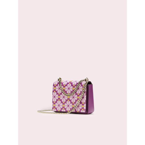amelia spade flower small convertible chain shoulder bag, perfect pansy multi, hi-res