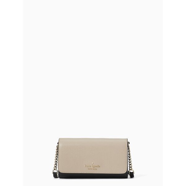 staci colorblock small flap crossbody, warm beige multi, hi-res
