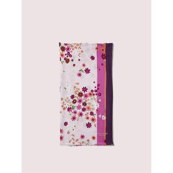 bora flora oblong scarf