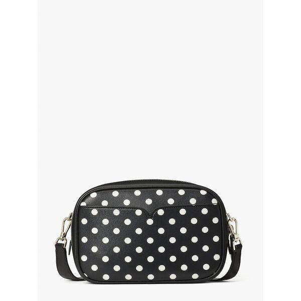 infinite domino dot medium camera bag, black multi, hi-res