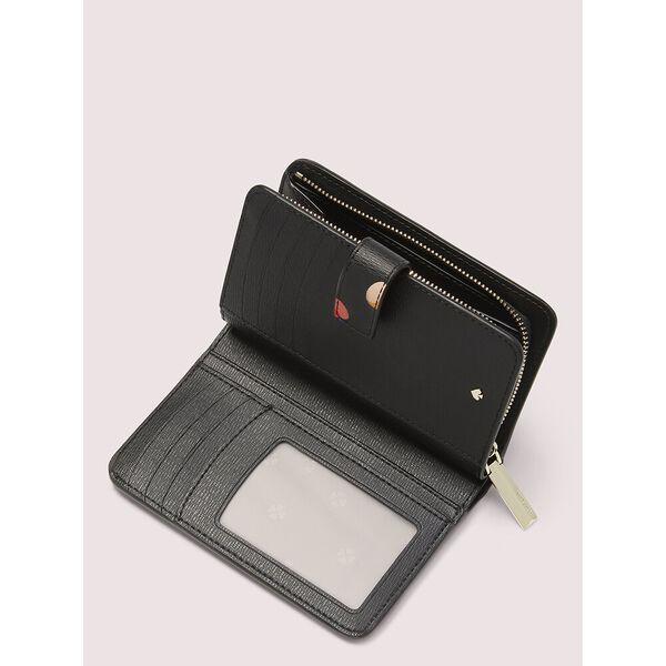 spencer cherries compact wallet, BLACK MULTI, hi-res