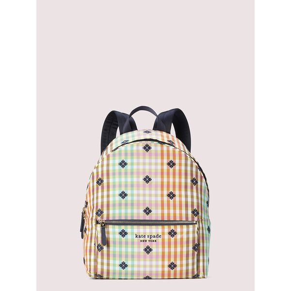the bella plaid city pack large backpack, multi, hi-res