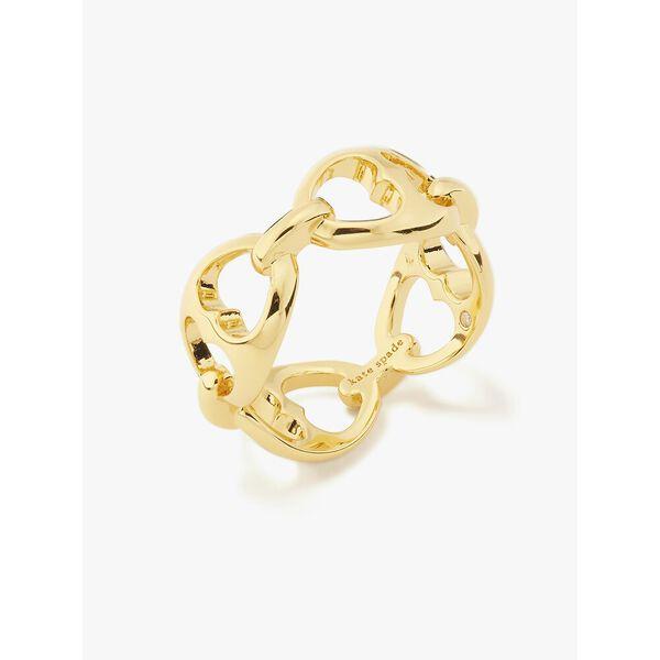duo link ring, GOLD, hi-res