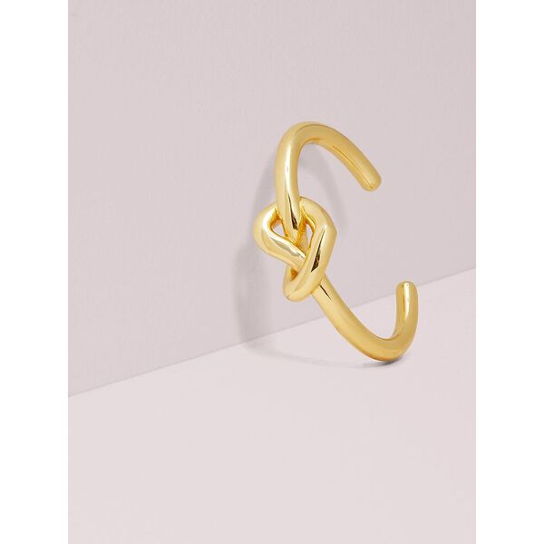 loves me knot statement cuff