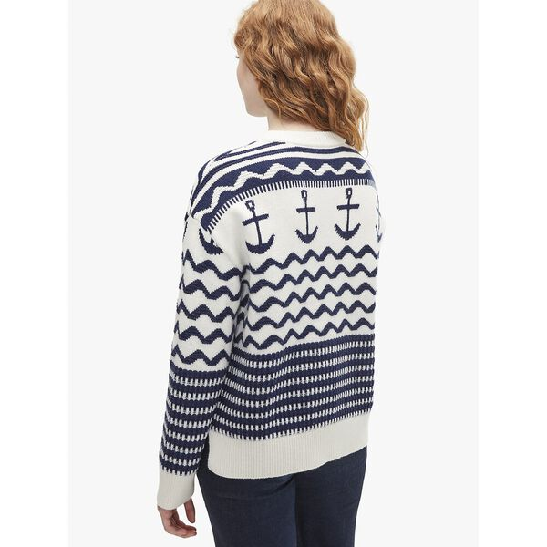 anchor sweater, french cream, hi-res