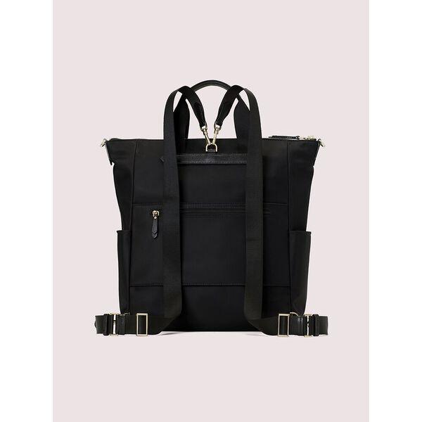 taylor convertible backpack, black, hi-res