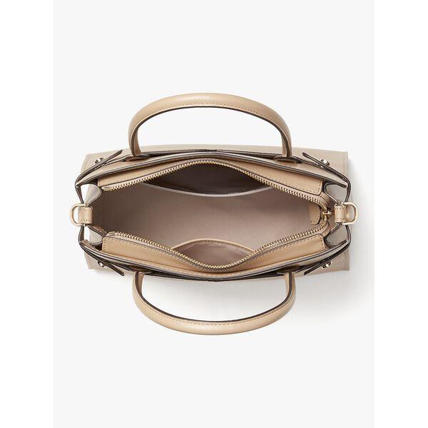 classic medium satchel, ivory, hi-res