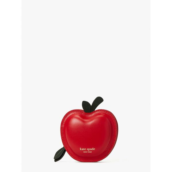 on a roll 3d apple coin purse, red multi, hi-res