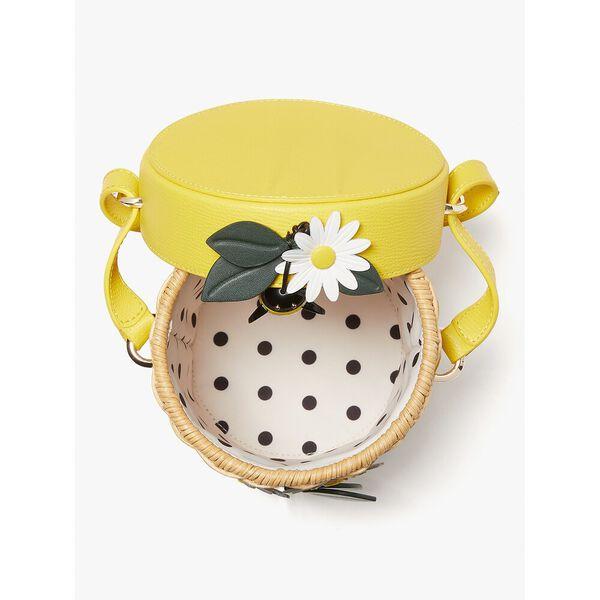 buzz wicker honey pot crossbody, light bulb multi, hi-res
