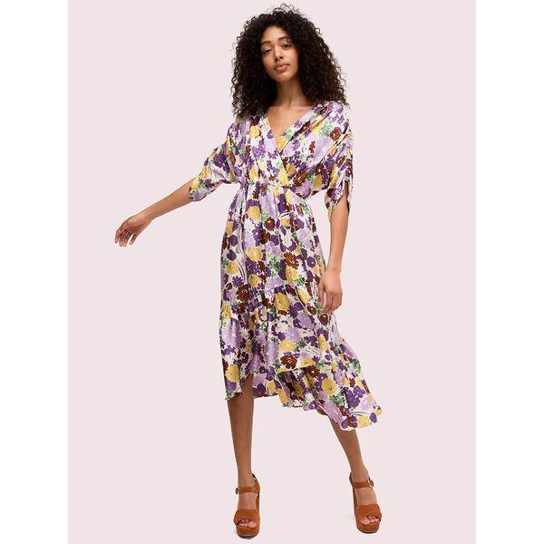swing flora jacquard dress