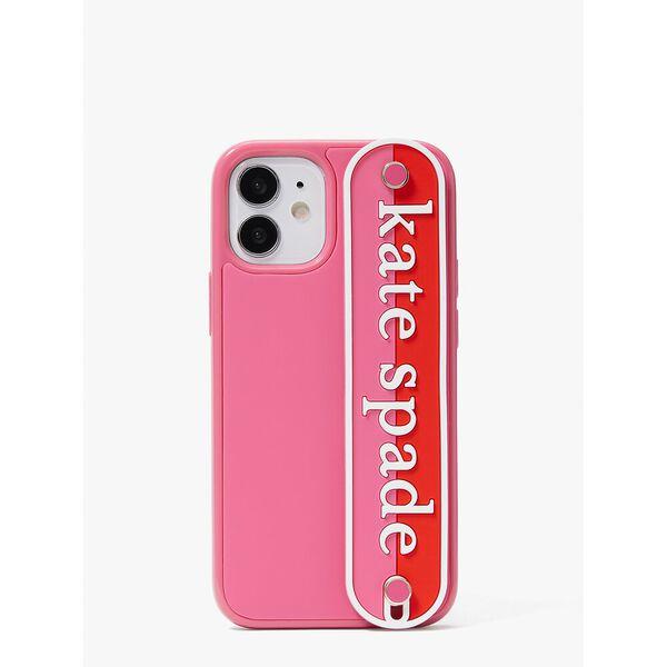 logo strap iphone 12 mini case