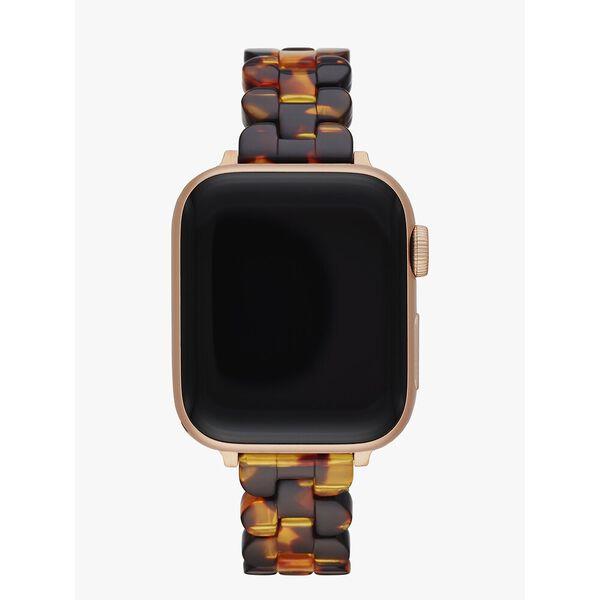 tortoiseshell acetate 38/40mm band for apple watch®
