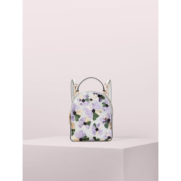 amelia embellished floral mini convertible backpack