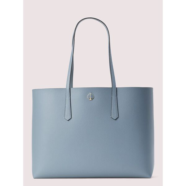 molly cabana dot pop large tote, swordfish, hi-res