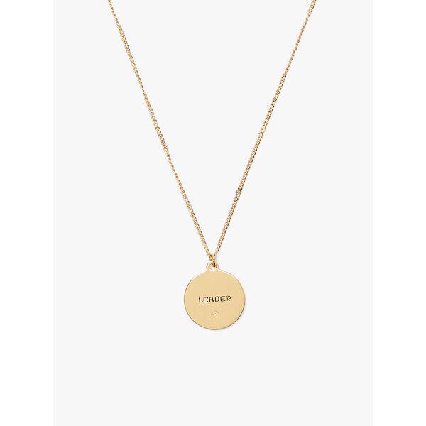 in the stars leo pendant, gold, hi-res