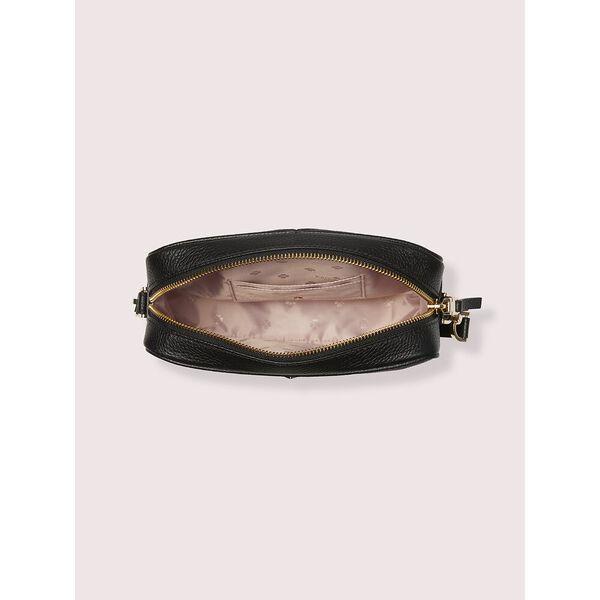 polly medium camera bag, black, hi-res