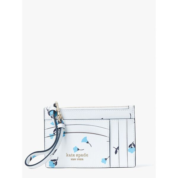 spencer dainty bloom card case wristlet, parchment multi, hi-res