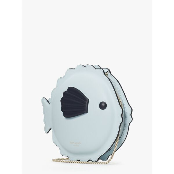 puffy puffer fish crossbody, blue glow, hi-res