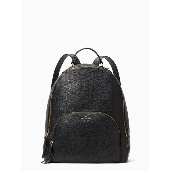 jackson medium backpack, black, hi-res