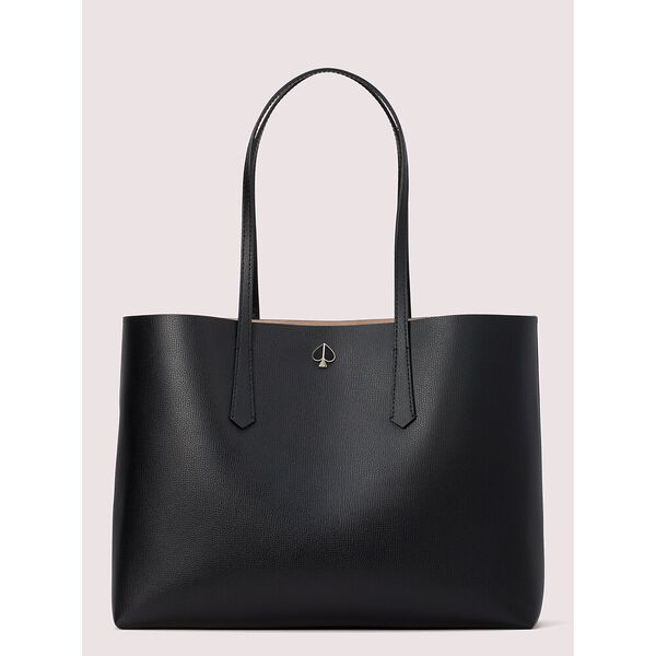 molly large tote, black, hi-res