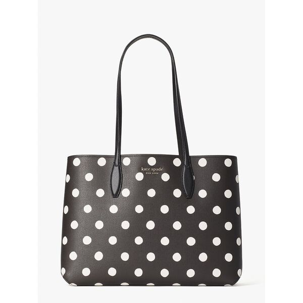 all day sunshine dot large tote