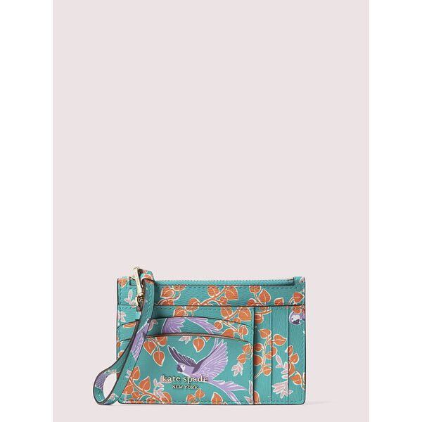 spencer bird party cardholder wristlet