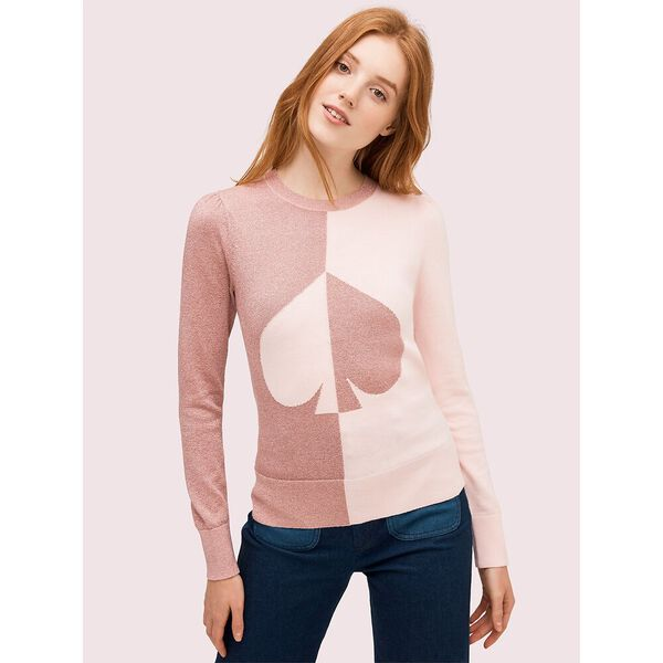 spade colorblock sweater