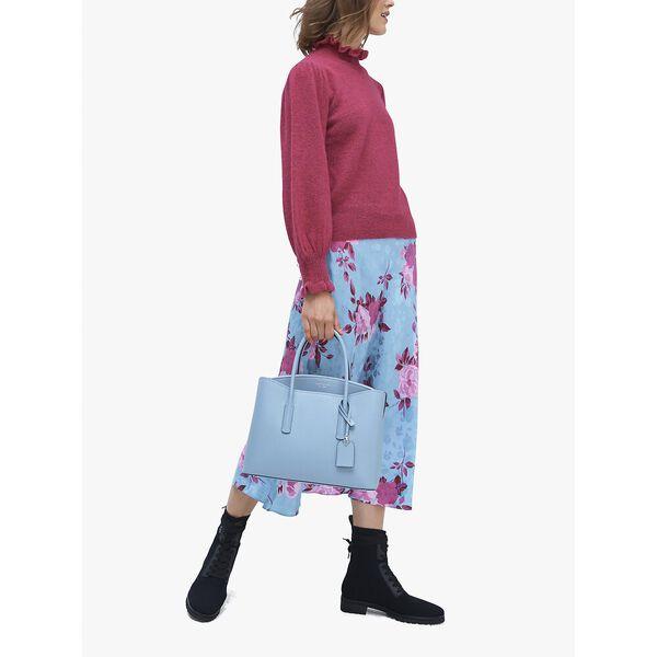 margaux large satchel, HORIZON BLUE, hi-res