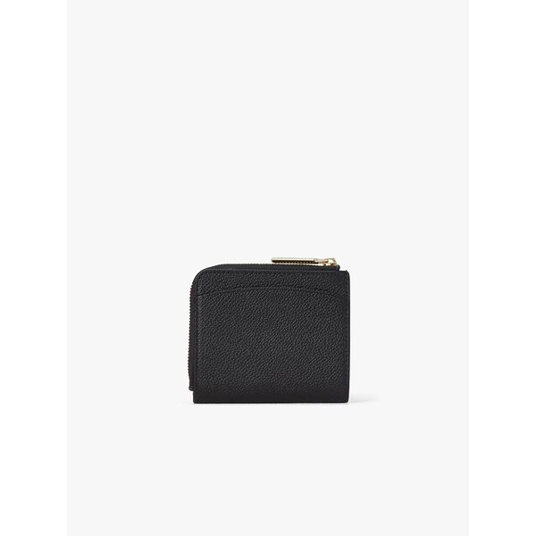 margaux small bifold wallet, BLACK, hi-res