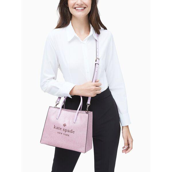 trista glitter shopper, rose pink, hi-res