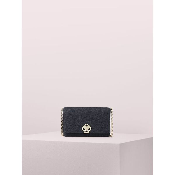 nicola shimmer twistlock chain wallet
